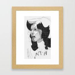 Nola Carveth. Framed Art Print