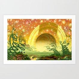 Majestic Night Art Print