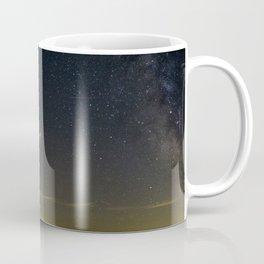 Mars Milky Way and Stars on Lake Coffee Mug