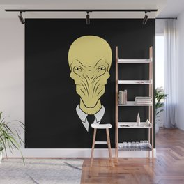 The silence will fall Wall Mural
