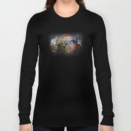Gods Playing Poker Long Sleeve T-shirt
