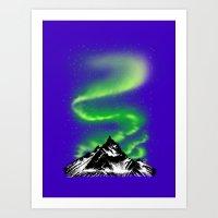 aurora Art Prints featuring Aurora by barmalisiRTB