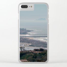 San Diego Lookout pt.5 Clear iPhone Case