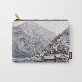 VILLAGE - COAST - MOUNTAINS - SNOW - PHOTOGRAPHY Carry-All Pouch