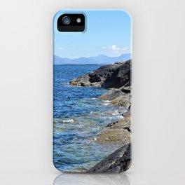 Hebrides Cliffs iPhone Case