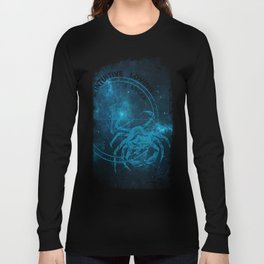 Cancer- Intuitive, loving and Tenacious Long Sleeve T-shirt