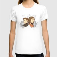 winchester T-shirts featuring Winchester Bros by PotatoCrisp