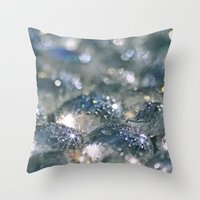 chill Throw Pillows featuring Chill... by Lisa Argyropoulos