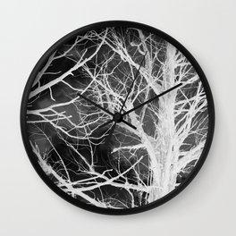 juniper shadows Wall Clock