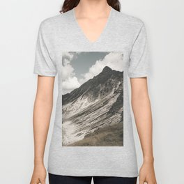 Cathedrals - Landscape Photography Unisex V-Neck