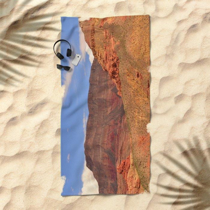 Virgin River Canyon Beach Towel