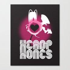 ♥ HEADPHONES Canvas Print