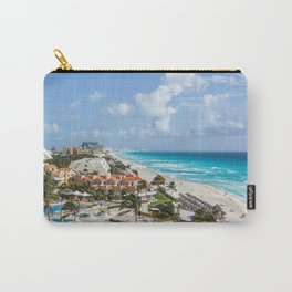 Cancun city on beachside Carry-All Pouch