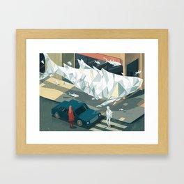 Glitch 02 Framed Art Print