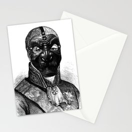Noh Mask 1 Stationery Cards