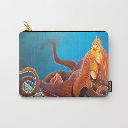 King Octopus Carry-All Pouch