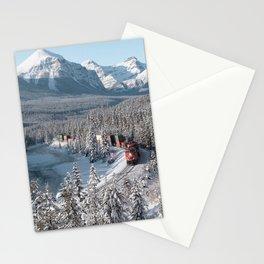 Morant's Curve: A Train through Winter Wonderland Stationery Cards