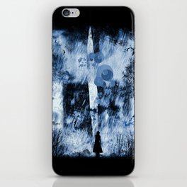 rain walker redux iPhone Skin