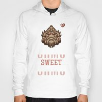 nausicaa Hoodies featuring Ohmu Sweet Ohmu by adho1982