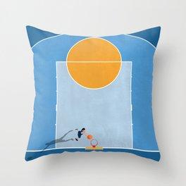 Shoot Hoops  Throw Pillow