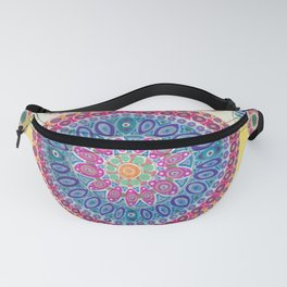 Pink and Blue Mandala Fanny Pack