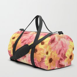 Summer Day Floral Duffle Bag
