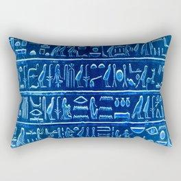 Osiris Moon Magick Egyptian Temple Rectangular Pillow