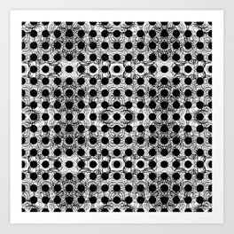 black dot system Art Print