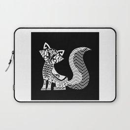 black fox ecopop Laptop Sleeve