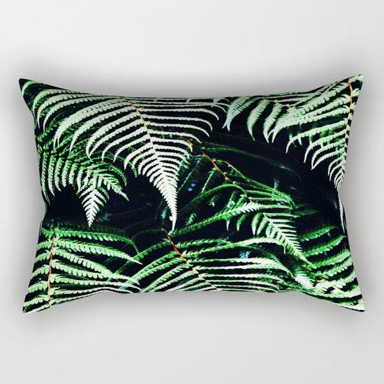 Entranced Ferns #society6 #prints #decor #home Rectangular Pillow