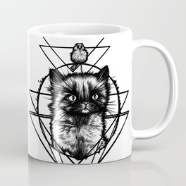 Spino Berlino - Little Cat - Black Kitten Coffee Mug