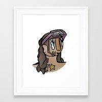 riff raff Framed Art Prints featuring Riff  by StupidDreams