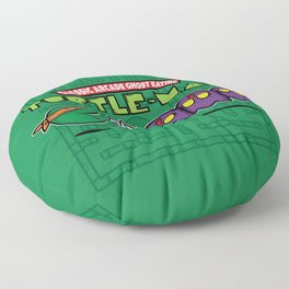 Hero in a Pac-Shell (Mikey) Floor Pillow
