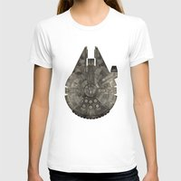millenium falcon T-shirts featuring Millennium Falcon by Eric Dufresne