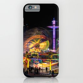 Fairground Attraction (diptych - left side) iPhone Case