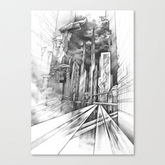 City of the Future Canvas Print
