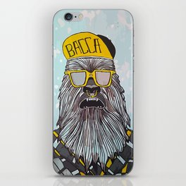 Hip Chewbacca iPhone Skin