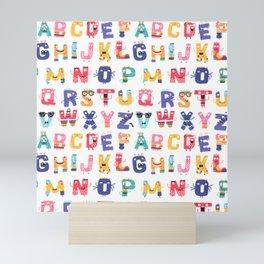 Fun with the ABC Mini Art Print