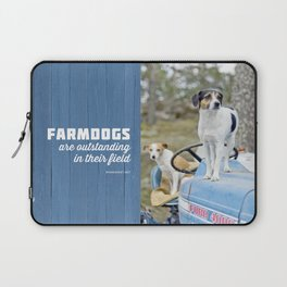 Outstanding Farmdogs Laptop Sleeve