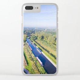 Alrewas canal Clear iPhone Case