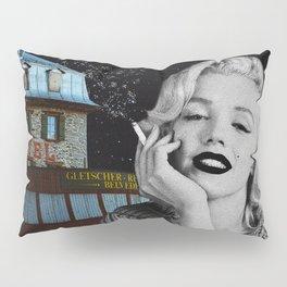 """Hotel Monroe"" Photo Montage Pillow Sham"
