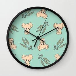 Koala Drop Bears Wall Clock