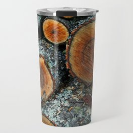 Wood Logs Travel Mug