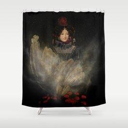 Emerging Beauty Shower Curtain