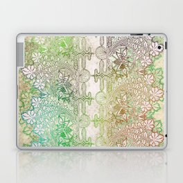 big green leaf lace Laptop & iPad Skin