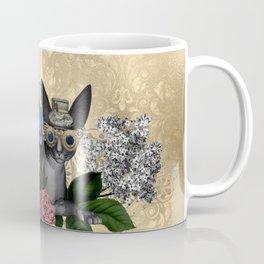 Funny steampunk cat Coffee Mug