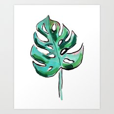 Life In The Shaded, Warm Air Is Good For The Soul II Art Print