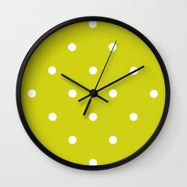 Dotty Pear Wall Clock