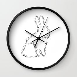 Rabbit from Alice in Wonderland Wall Clock