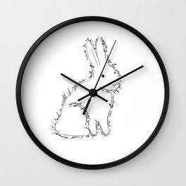 Rabbit from Alice in Wonderland Wall Clock